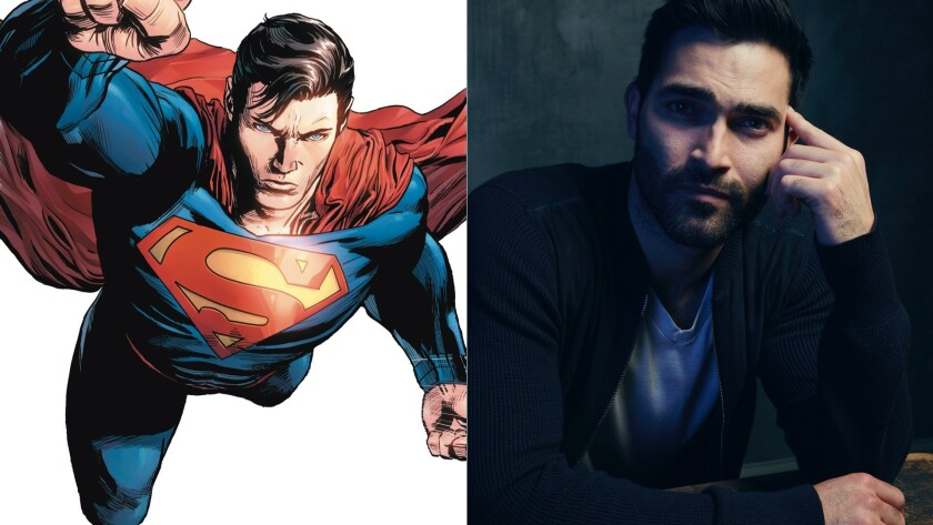 """Tyler Hoechlin has been cast as Superman in the """"Supergirl"""" series."""
