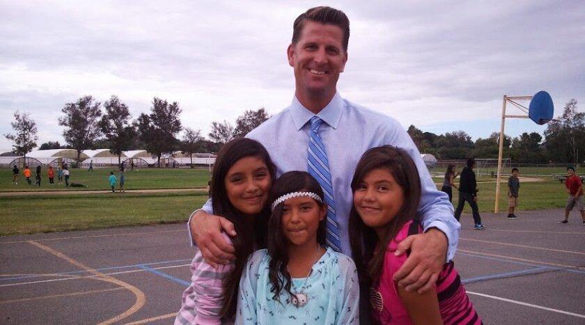Vallecitos Superintendent David Jones, as seen on the district's website.