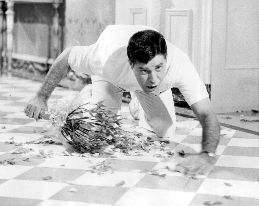 """Jerry Lewis in """"The Disorderly Orderly."""" The Library of Congress has acquired Lewis' archive."""