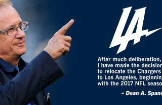 Dean Spanos announces move