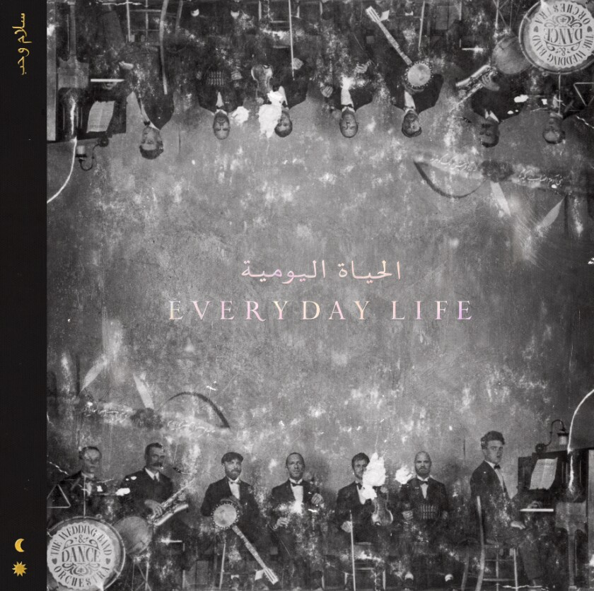 "Coldplay's ""Everyday Life"" album cover"