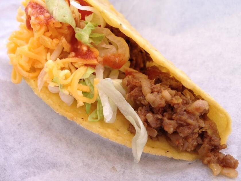 Henry's Tacos in Studio City provided the taco of many childhoods.