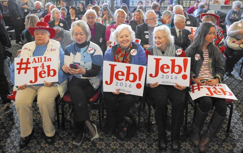 Jeb Bush supporters