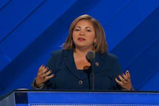 Watch Rep. Linda T. Sánchez speak at the Democratic National Convention -- and a cameo from her sister