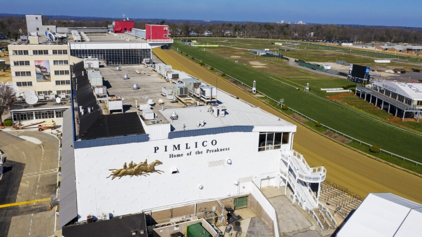 Pimlico Preakness Horse Racing