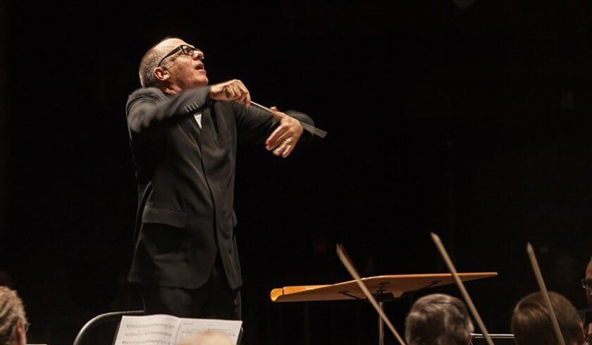 Steven Schick, music director and conductor of the La Jolla Symphony & Chorus
