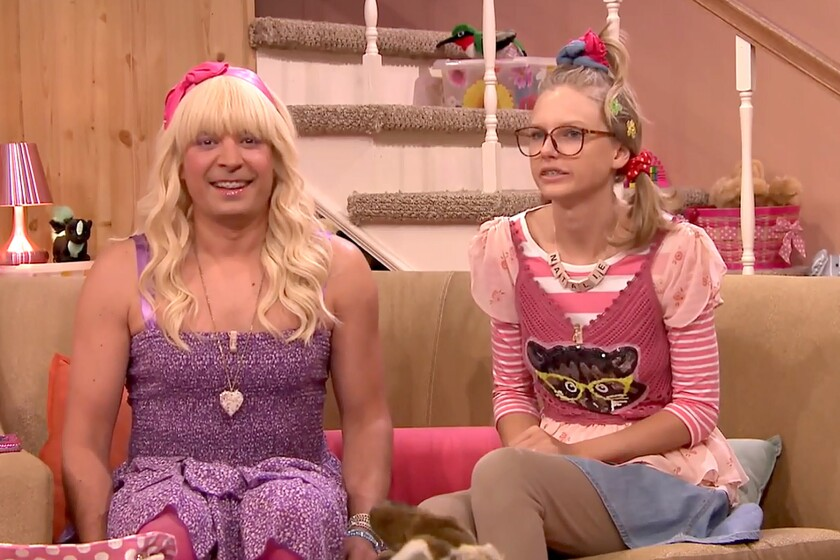 Watch Taylor Swift Join Jimmy Fallon For Ew Los Angeles Times