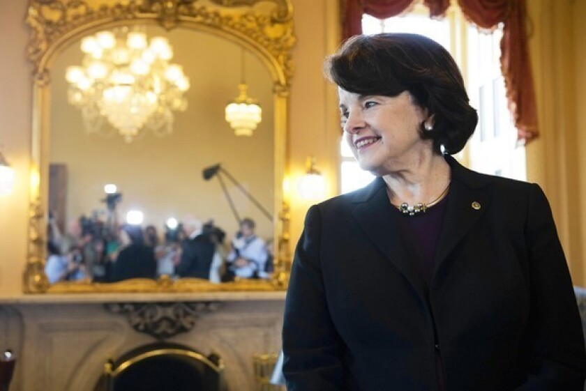 Sen. Dianne Feinstein (D-Calif.) is heavily favored to win reelection.