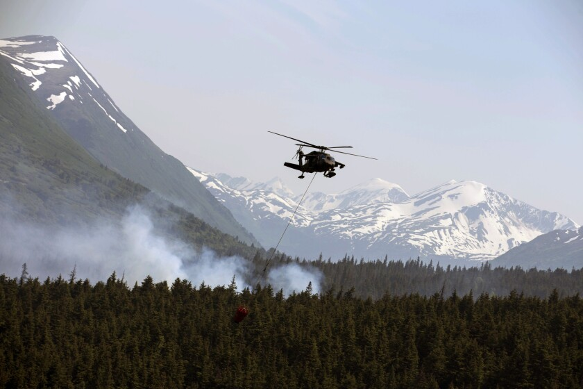 U.S. wildfires scorch land at dramatic rate, but then there's the Alaska factor