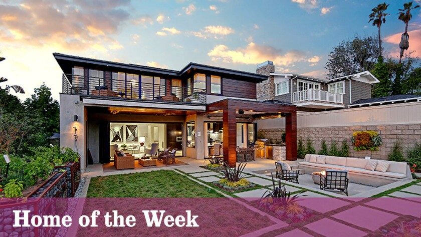 The newly built home at 111 S. Meadows Ave., Manhattan Beach, is listed at $4 million.
