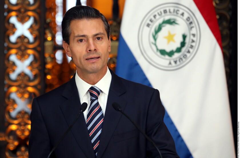 Peña Nieto espera que un banco de China opere en México.