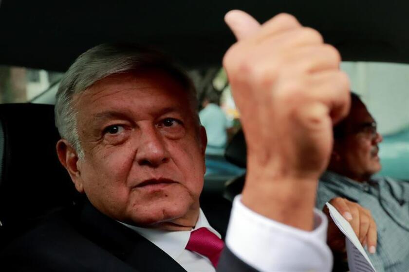 Fotografía de archivo del próximo presidente de México, Andrés Manuel López Obrador. EFE/Archivo