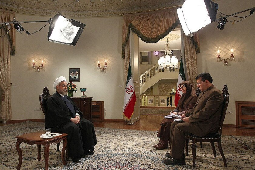 Iran: Hassan Rouhani's interview