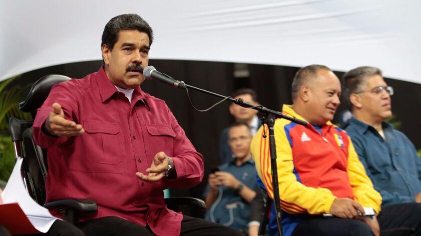 VENEZUELA-CRISIS-CONSTITUENT ASSEMBLY-MADURO