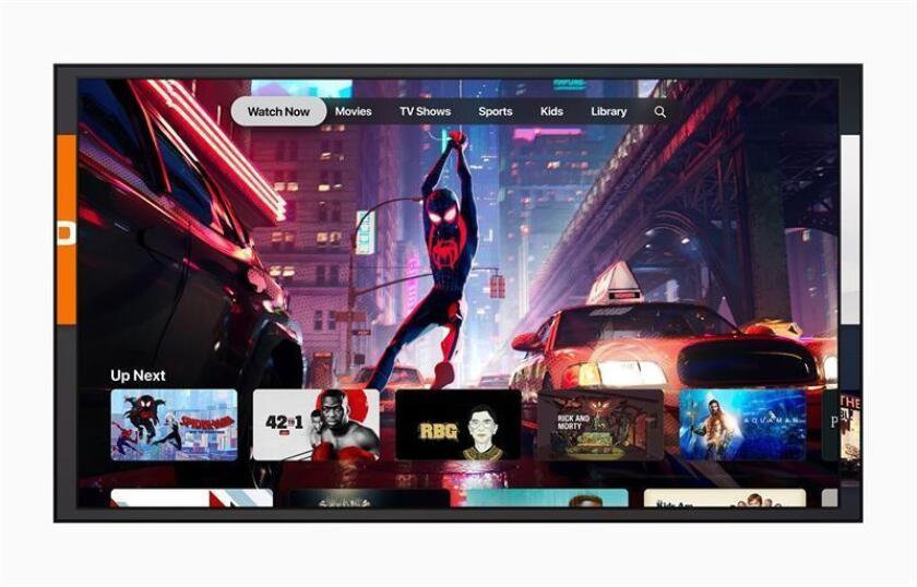 Imagen que muestra la nueva aplicación de la compañía tecnológica Apple, Apple TV+, este lunes en Cupertino, California (Estados Unidos). EFE/Apple Inc.