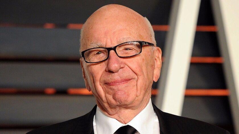 Rupert Murdoch is shown in 2015.