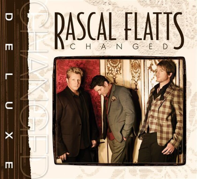 """In this CD cover image released by Big Machine Records, the latest release by Rascal Flatts, """"Changed,"""" is shown. (AP Photo/Big Machine Records)"""