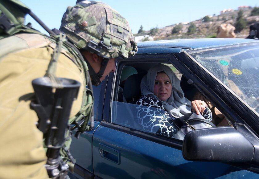 Increased security around Hebron