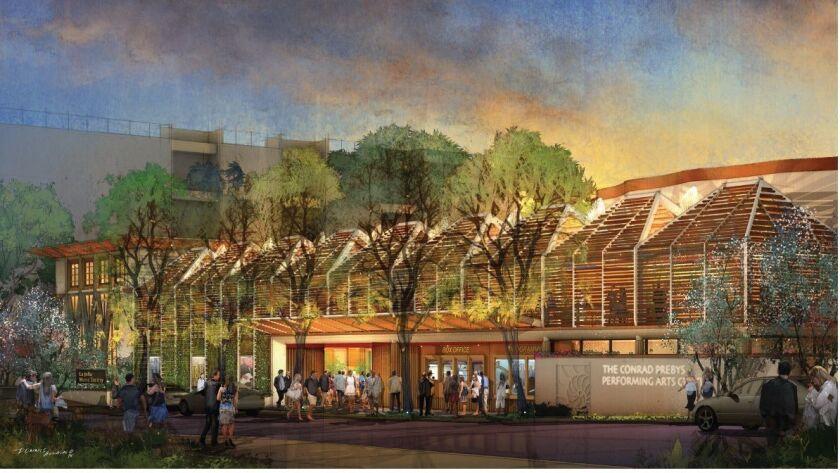 The Conrad, new home for the La Jolla Music Society.