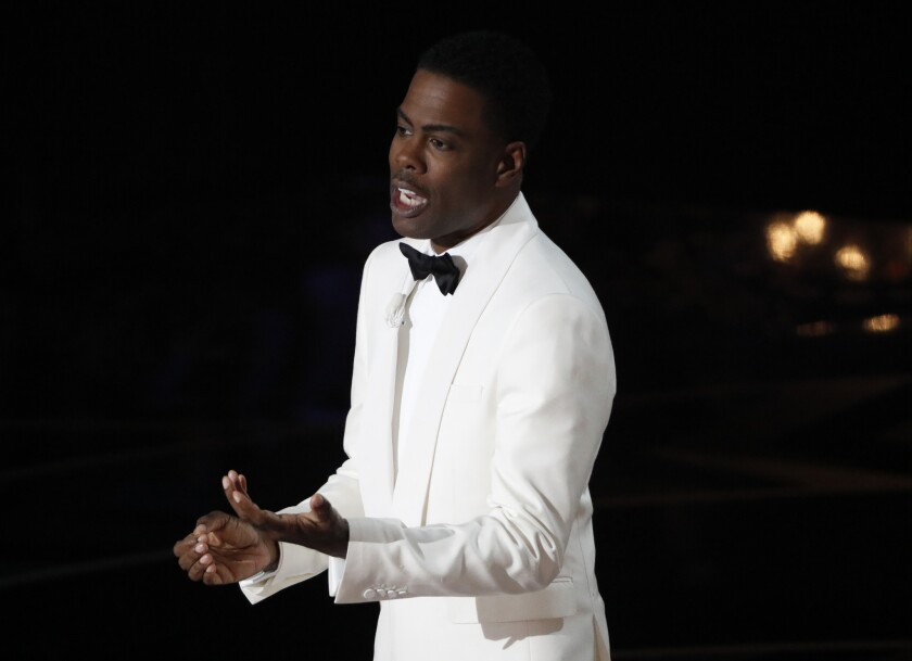 Chris Rock hosts the 88th Academy Awards on Sunday in Hollywood.