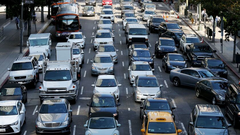 Editorial: If California is serious about climate change, the car can't be king of our roads