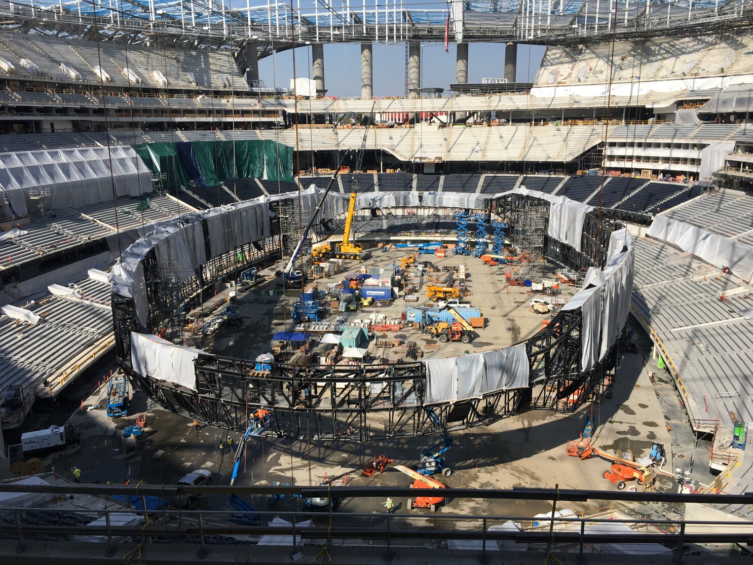Sofi Stadium Isn T The Only Project The Rams Are Working On Los Angeles Times