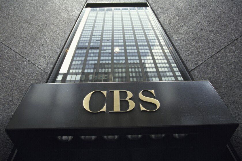 CBS headquarters in New York City.