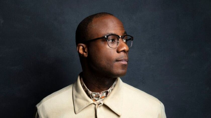 "Director Barry Jenkins, from the film ""If Beale Street Could Talk,"" photographed in the L.A. Times Photo and Video Studio at the Toronto International Film Festival."