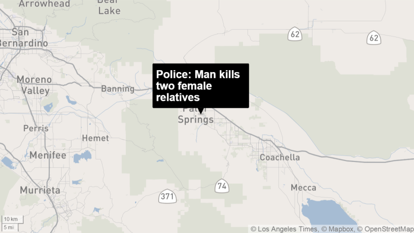 Man kills family then himself in Palm Springs