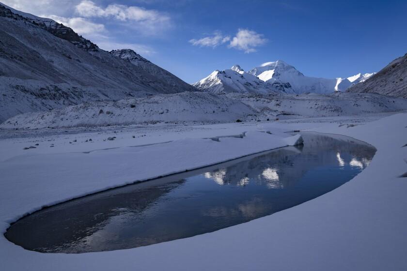 China Everest Survey