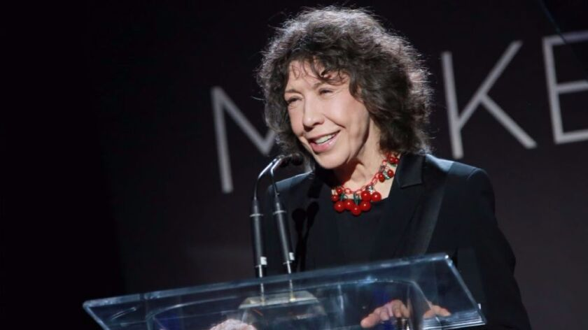 Lily Tomlin will receive a lifetime achievement award at Sunday's SAG ceremony.