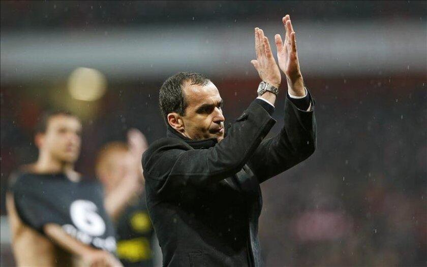 El entrenador del Wigan, Roberto Martinez. EFE/Archivo