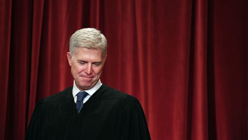 Justice Neil M. Gorsuch wrote the Supreme Court's majority opinion in Epic Systems Corp. vs. Lewis.