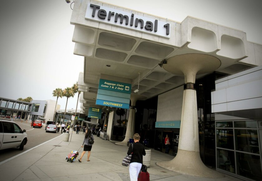 Lindbergh Field's Terminal 1 opened in 1967 and would be replaced, starting in 2025.
