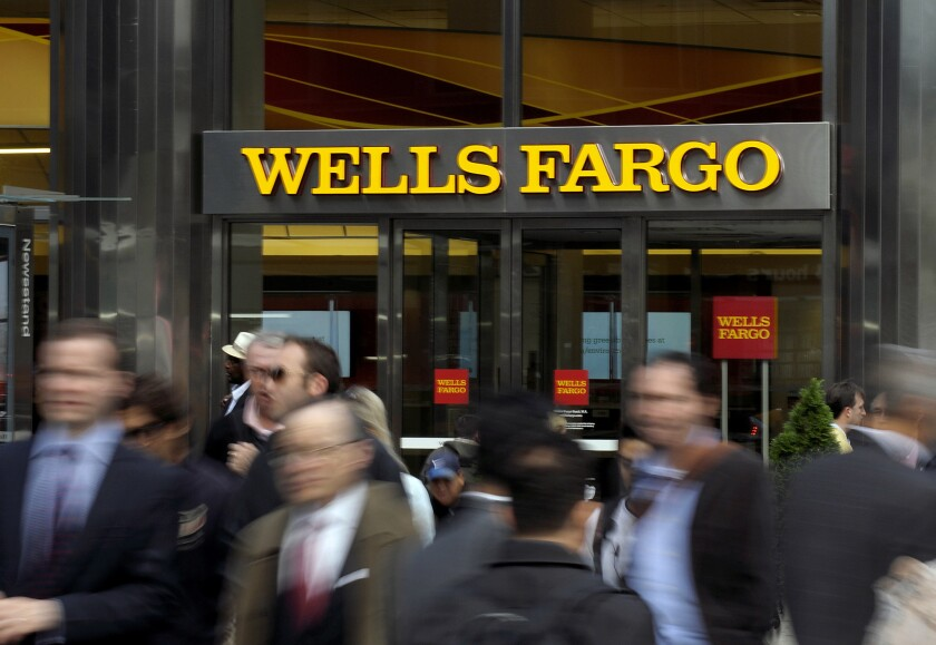 The largest U.S. banks, such as Wells Fargo, have continued to erode standards for some of the riskiest lending, a sign that weak underwriting is returning to levels seen before the 2008 financial crisis.