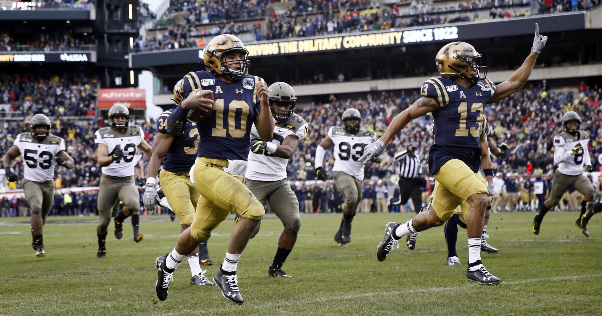 Malcolm Perry's 304 rushing yards send Navy to victory over Army