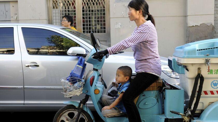 CHINA-POPULATION-SOCIAL-FAMILY
