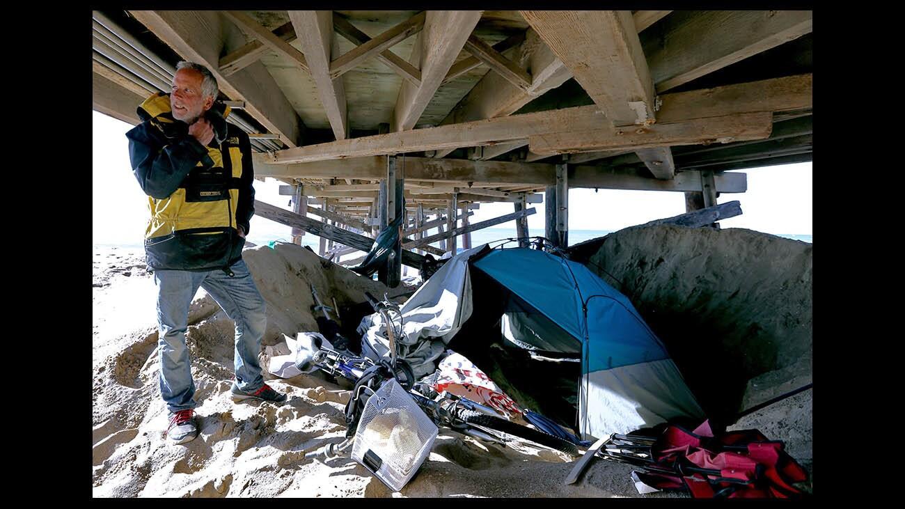 Photo Gallery: Homeless in Newport Beach