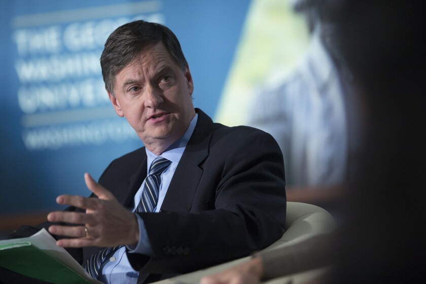 Charles Evans, president of the Federal Reserve Bank of Chicago, at a conference in Washington in 2013.