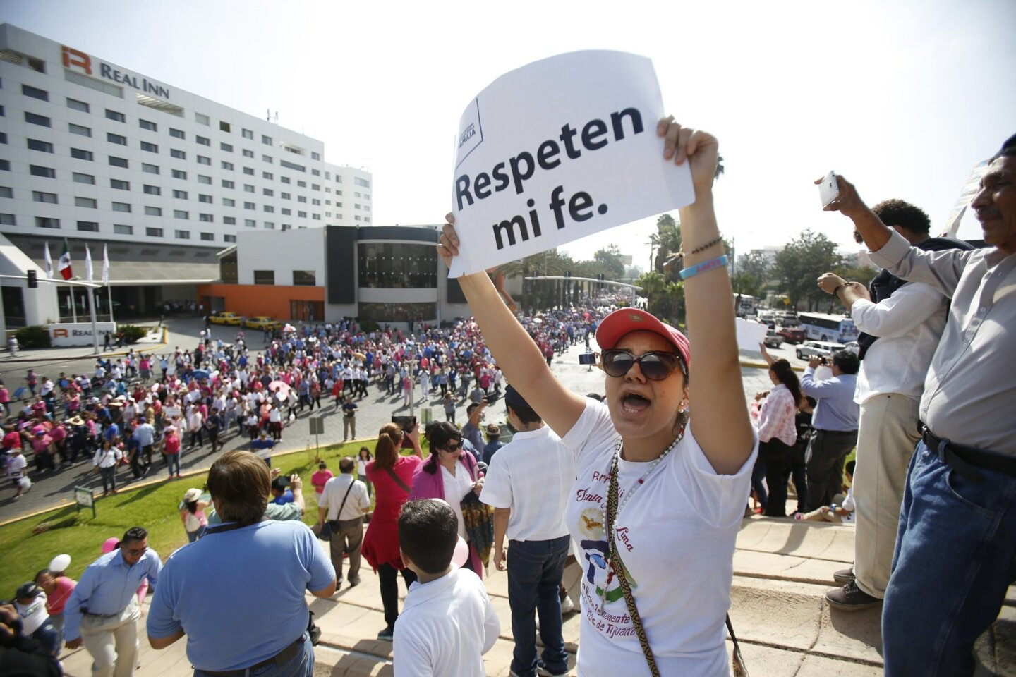 Tijuana Rally Against Same-Sex Marriage