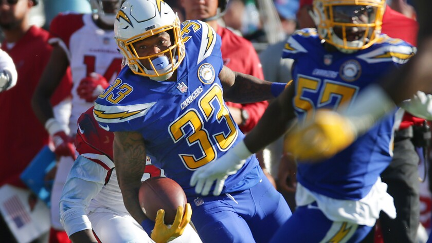 Chargers vs. Cardinals 11/25/18