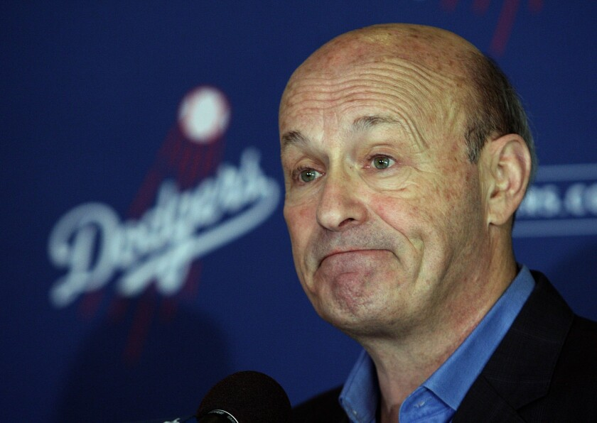 CEO Stan Kasten and other highly paid Dodgers employees will take pay cuts of up to 35% so the organization can avoid furloughs and layoffs.