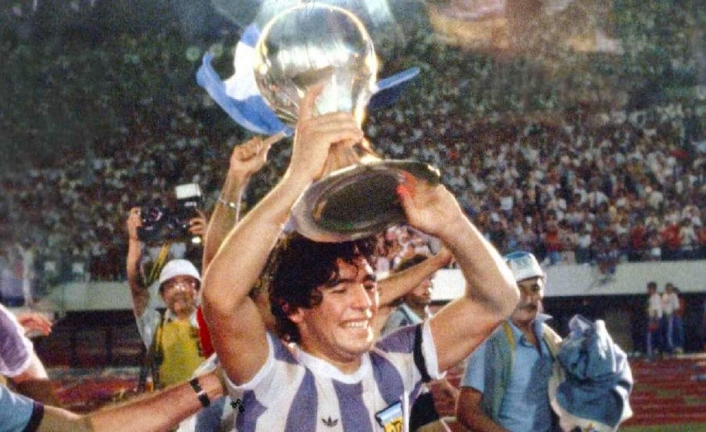 El 7 de septiembre de 1979, 'El Pelusa' se coronó en el Mundial Juvenil Japón 1979 cuando la selección argentina venció 3-1 en la Final a la Unión Soviética.