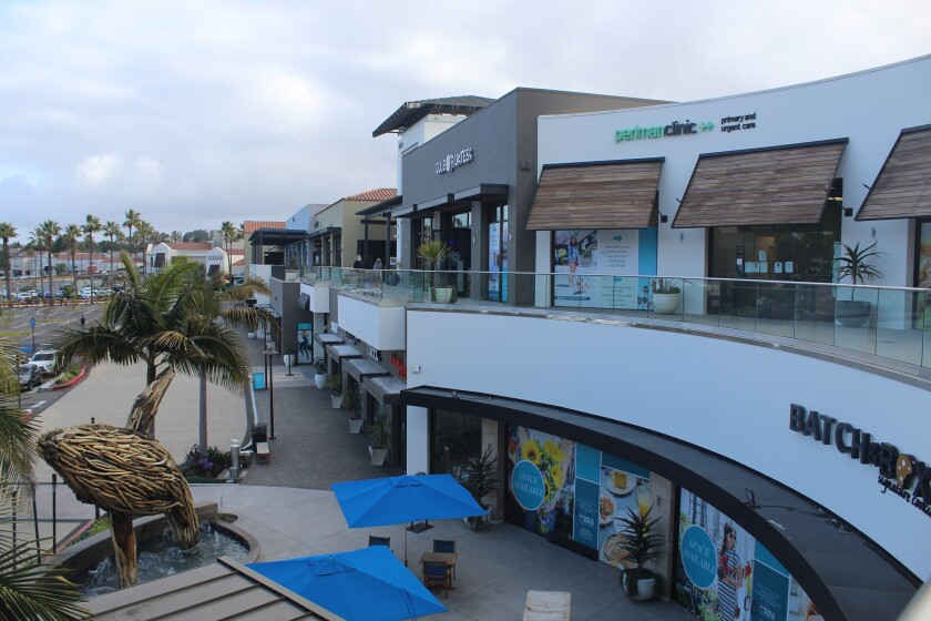 Several new businesses will open this spring in the Del Mar Highlands Town Center expansion.