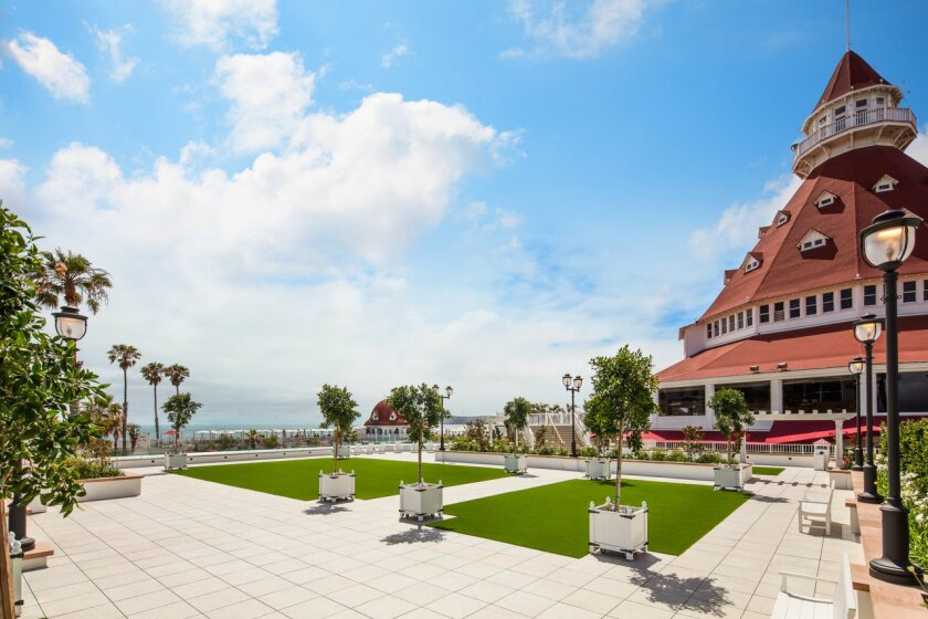 Vista Walk, the Hotel Del's new outdoor event space