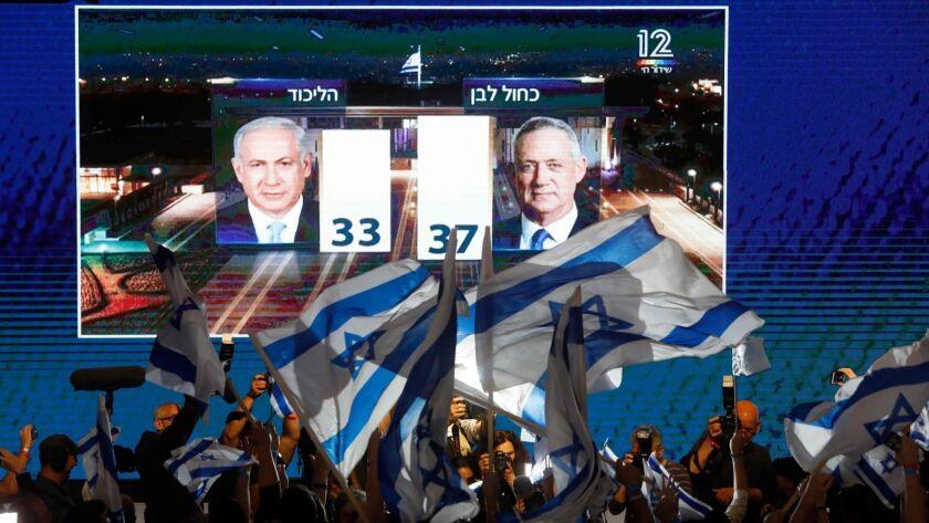 Israel election: Netanyahu again appears poised to claim