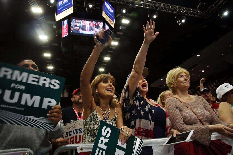 Donald Trump rally in Fresno
