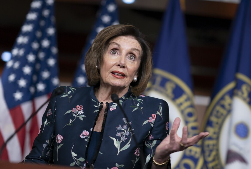 """House Speaker Nancy Pelosi, in announcing the House vote, called the killing of Iranian Gen. Qassem Suleimani """"provocative and disproportionate."""""""