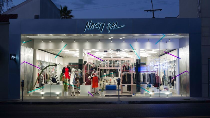 Provocative fashion firm Nasty Gal has filed for Chapter 11 bankruptcy protection.