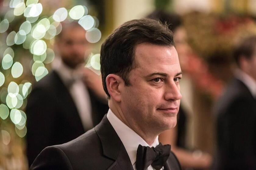 El humorista Jimmy Kimmel será el presentador de la 89 edición de los Óscar, avanzaron hoy Variety y The Hollywood Reporter, las principales publicaciones especializadas en información sobre Hollywood. EFE/ARCHIVO